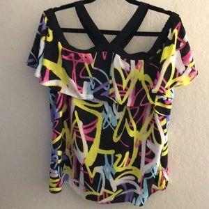 INC off shoulder blouse